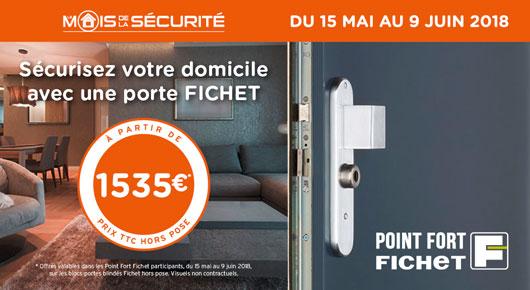 Le Mois de la sécurité - Point Fort Fichet Oullins